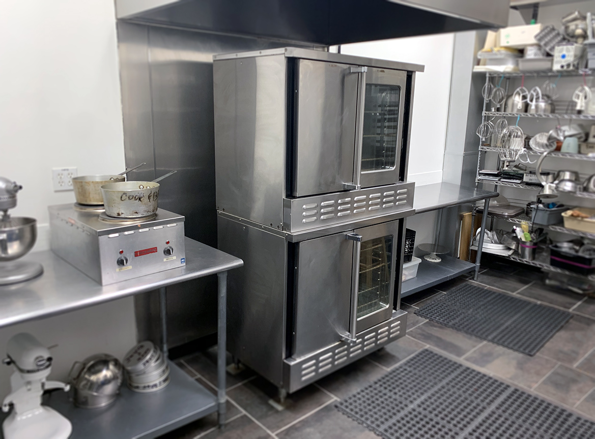 Full-size convection ovens
